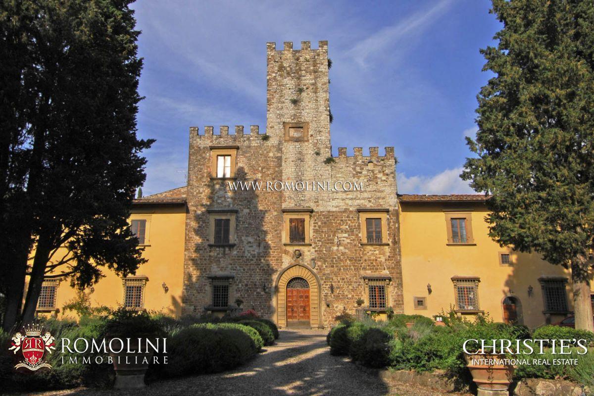 Castello medievale in vendita a firenze for Firenze medievale